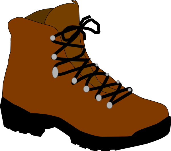 600x530 Hiking Silhouette Clipart