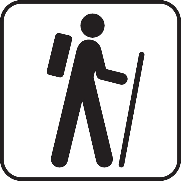 600x600 Hiker Hiking Free Vector Download (34 Free Vector) For Commercial