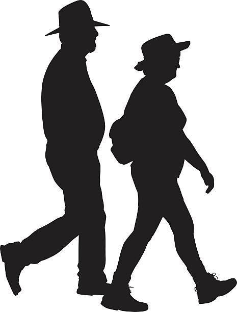 465x612 Hiking Clipart Vector