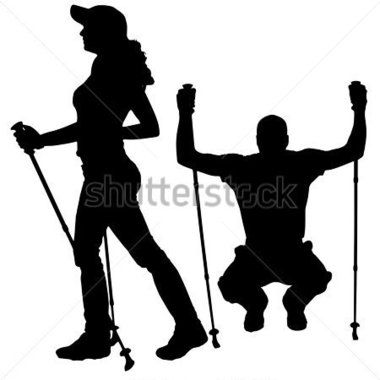 380x380 List Of Synonyms And Antonyms Of The Word Hiking Girl Silhouette
