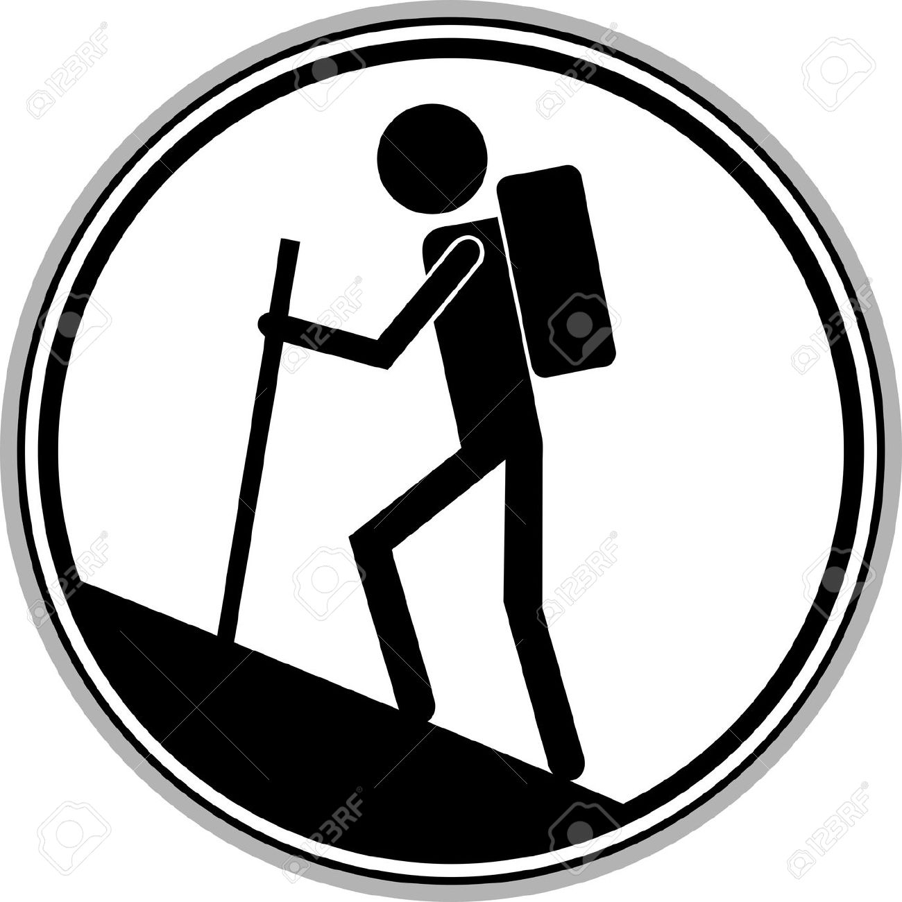 1300x1300 Mountain Clipart Mountain Hiker Many Interesting Cliparts