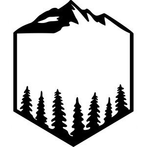 300x300 Camping Logo Silhouette Design, Silhouettes And Logos