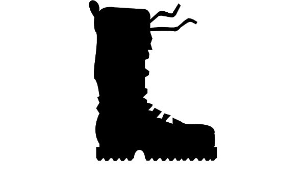 Hiking Boot Silhouette