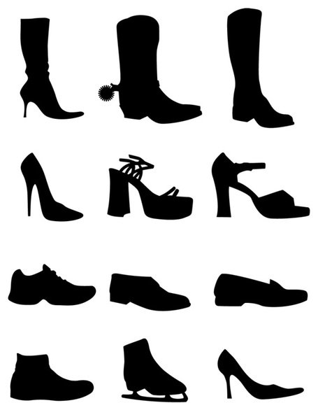 455x586 Hiking Boot Clip Art, Free Vector Hiking Boot