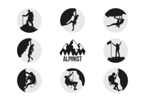hiking silhouette at getdrawings  free download
