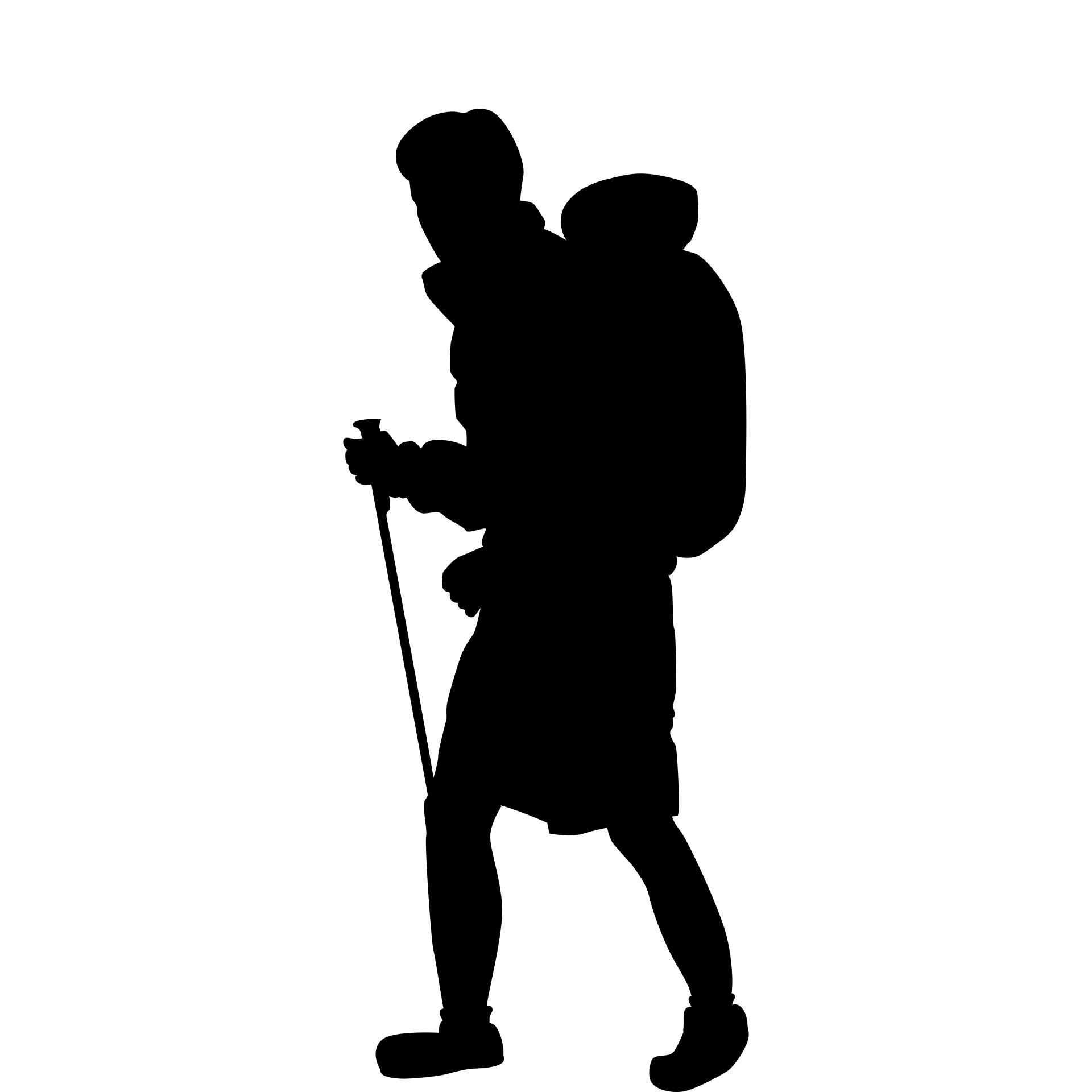 1920x1920 Hiking Man Free Stock Photo