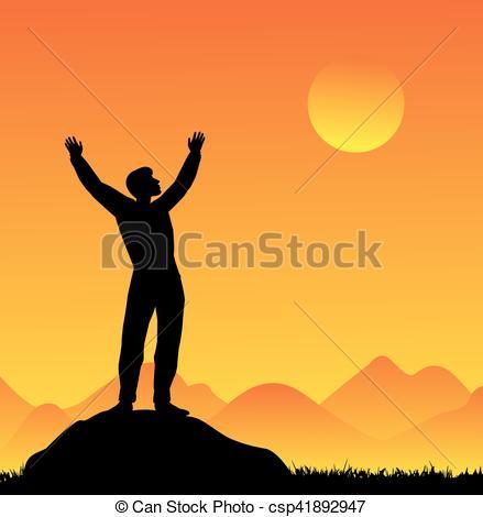 439x470 Silhouette Of Man