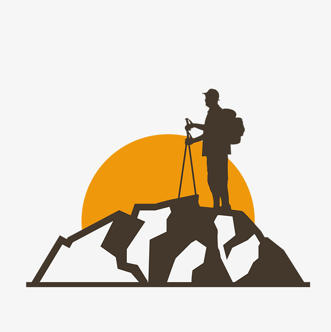 650x651 Vector Hills, People, Mountaineer, Vector Png And Vector For Free