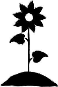 200x300 Sunflower Flocken Sunflowers, Flower Clipart
