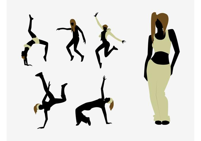 700x490 Hip Hop Dancer Free Vector Art