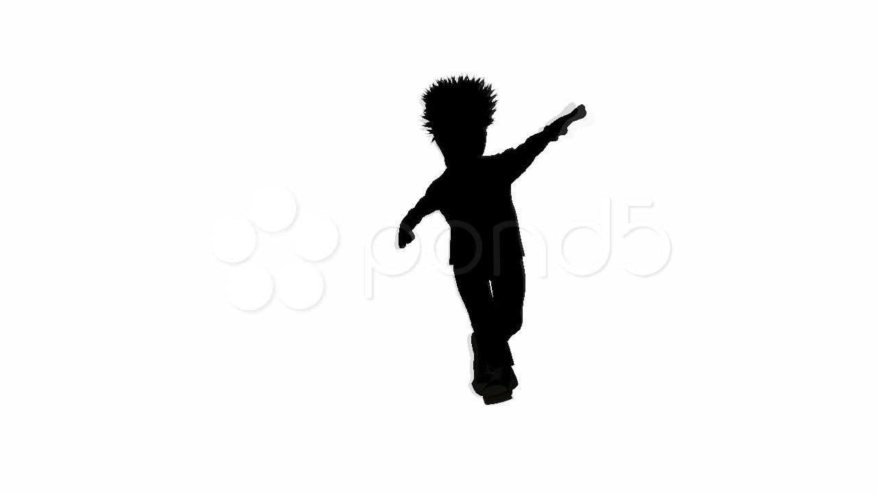 1280x720 Hip Hop Dancer Silhouette ~ Video Clip