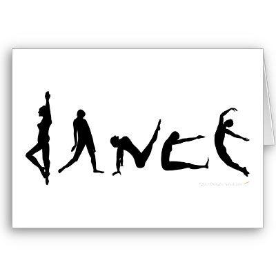 400x400 Dance Dancing Silhouette Greeting Card Dance Silhouette, Dancing