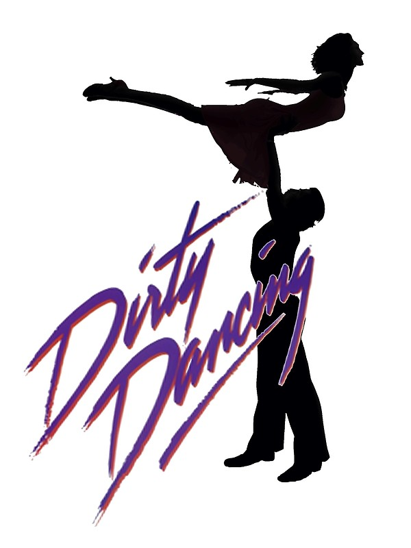 600x800 Dirty Dancing Silhouettes Posters By Drdesign Redbubble