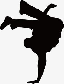 225x294 Hip Hop Silhouette Figures, Graphic Design, Hip Hop, Other