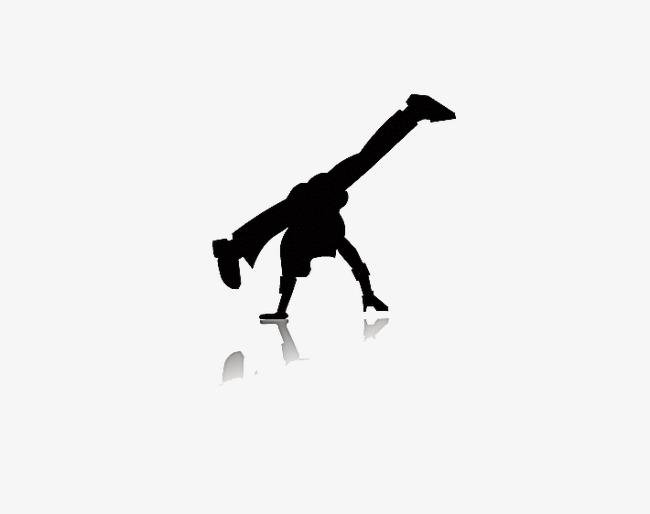 650x514 Hip Hop Silhouette Figures, Hip Hop, Black, Sketch Png Image