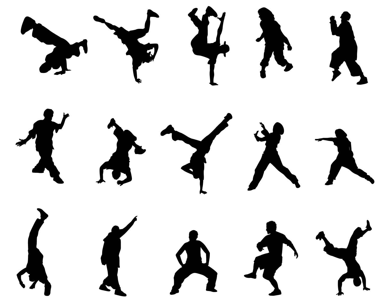 1500x1192 Hip Hop Dancer Svg Man Silhouette People Cricut Stencil Cameo