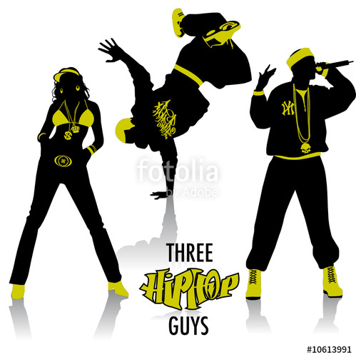 499x500 Hip Hop Silhouettes Stock Image And Royalty Free Vector Files
