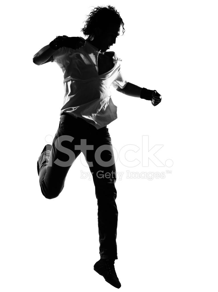 765x1024 Hip Hop Funk Dancer Dancing Man Silhouette Stock Photos