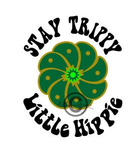 267x304 Hippy Svg, Dxf Silhouette, Stay Trippy Svg, Cactus Svg, Little