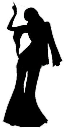 227x438 Silhouettes Disco Silhouettes, Discos And Disco Party