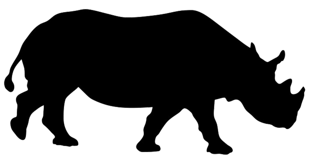 1063x557 Silhouette Of Hippo Silhouettes