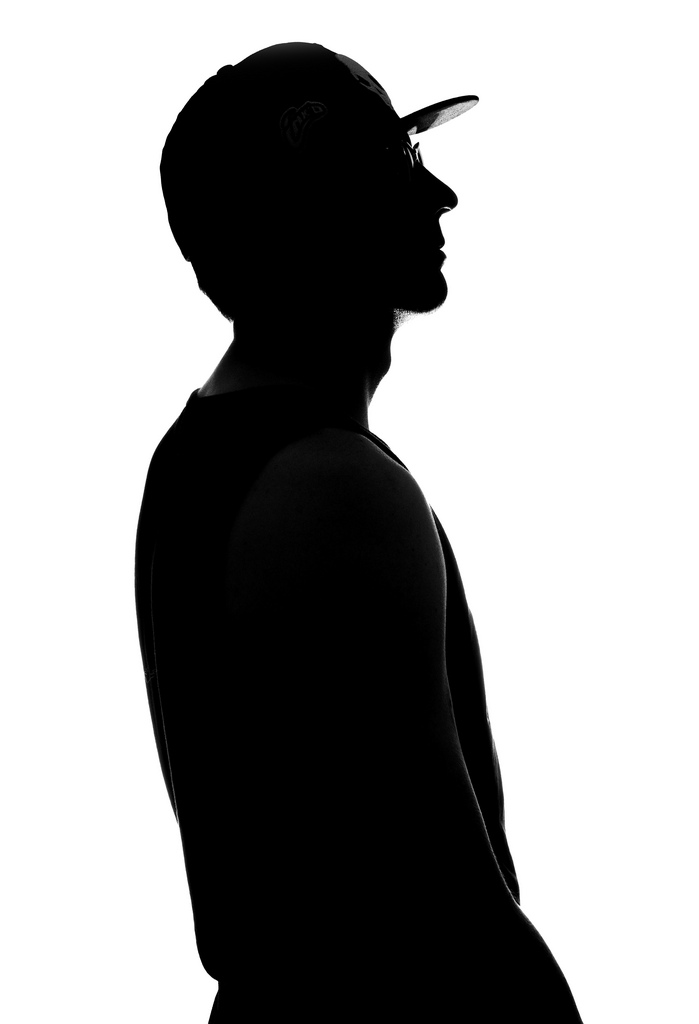 699x1024 Hipster Silhouette One Ab400 Directly Behind Subject