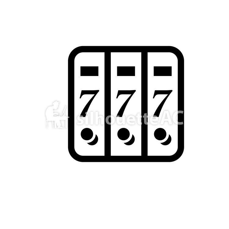 750x750 Free Silhouettes 7, Seven, Seven, Icon