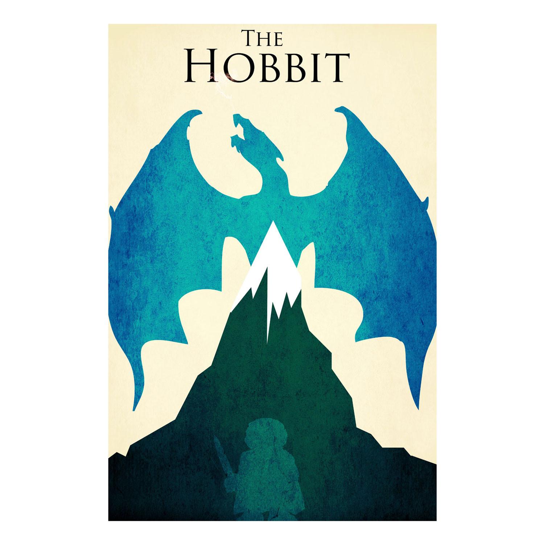 1500x1500 The Hobbit Retro Poster (16 X 24)
