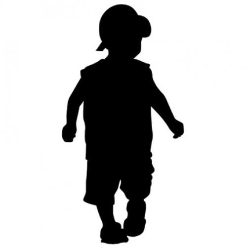 500x500 Boy W Hat Silhouette