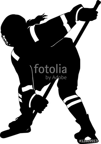Hockey Goalie Silhouette At Getdrawings Com Free For Personal Use