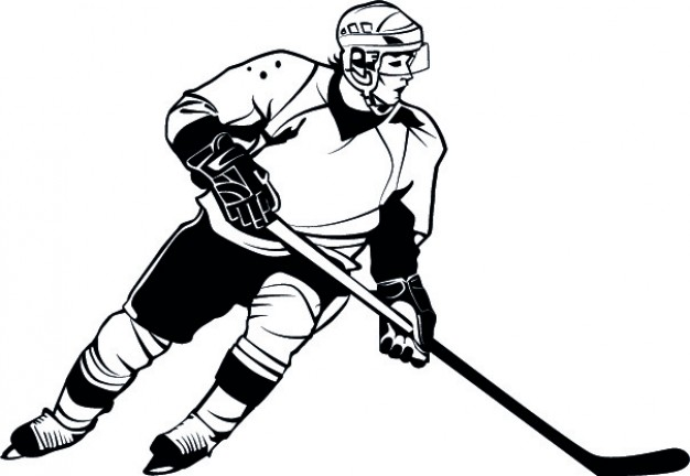 626x432 Hockey Player Vectors, Photos And Psd Files Free Download