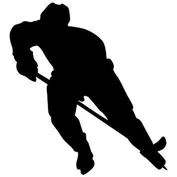 355x355 Hockey Wall Sticker Decal 8