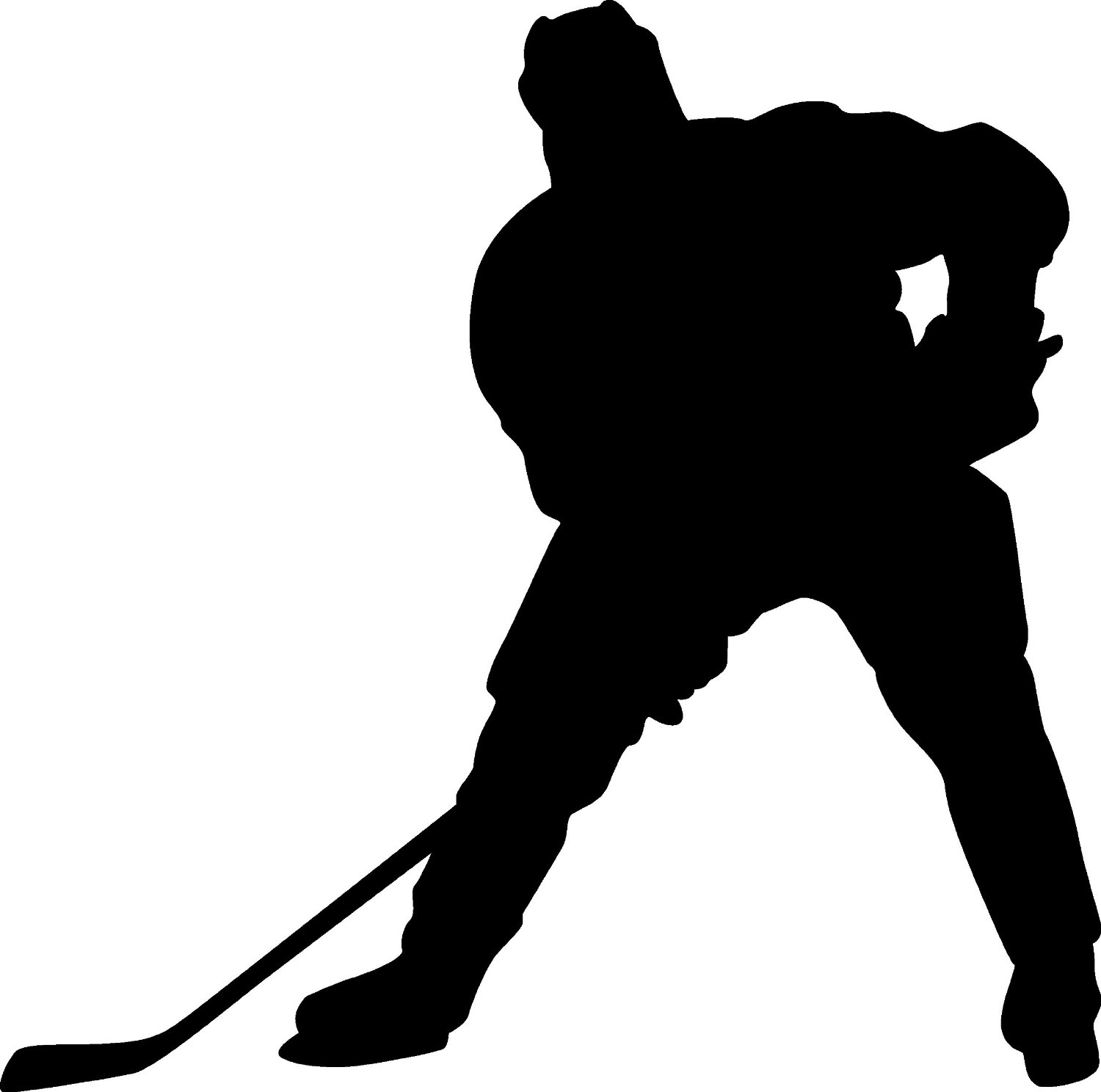 1500x1488 9 Hockey Player Silhouette Vector Images