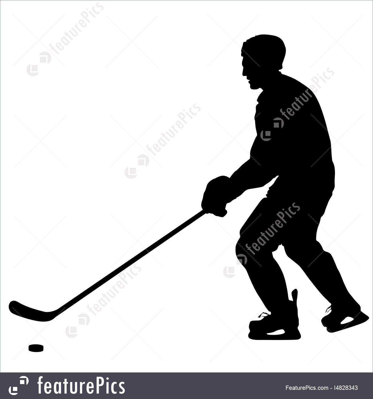 1300x1392 Winter Ice Hockey Silhouette Of Hockey Player