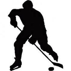 236x236 Hockey Players Silhouettes
