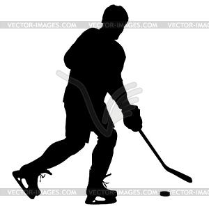 300x300 Of Hockey Player. Illustra