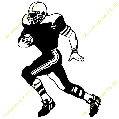 500x500 Football Player Silhouette Clip Art Football Player Catching