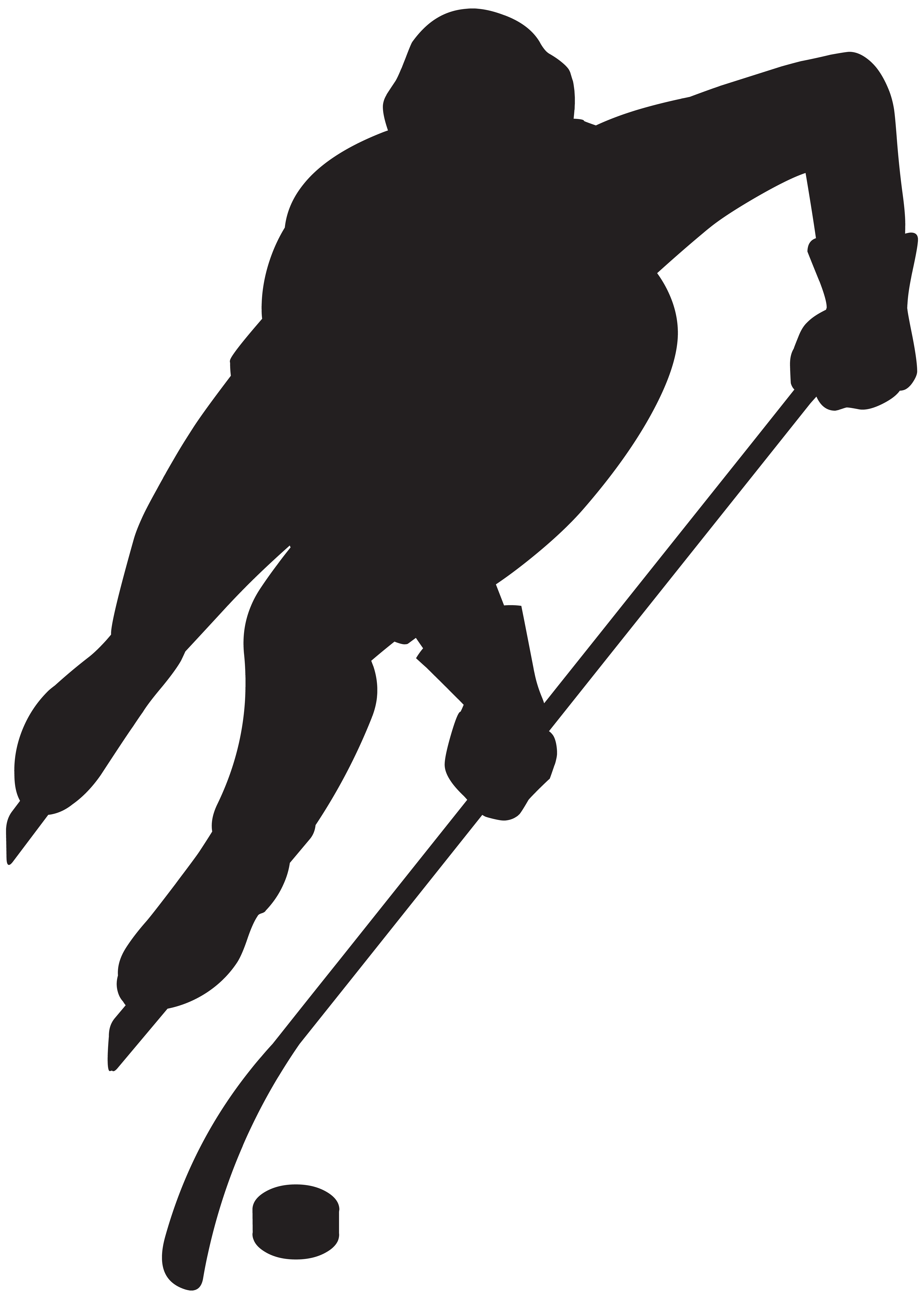 5691x8000 Hockey Player Silhouette Png Clip Art Imageu200b Gallery