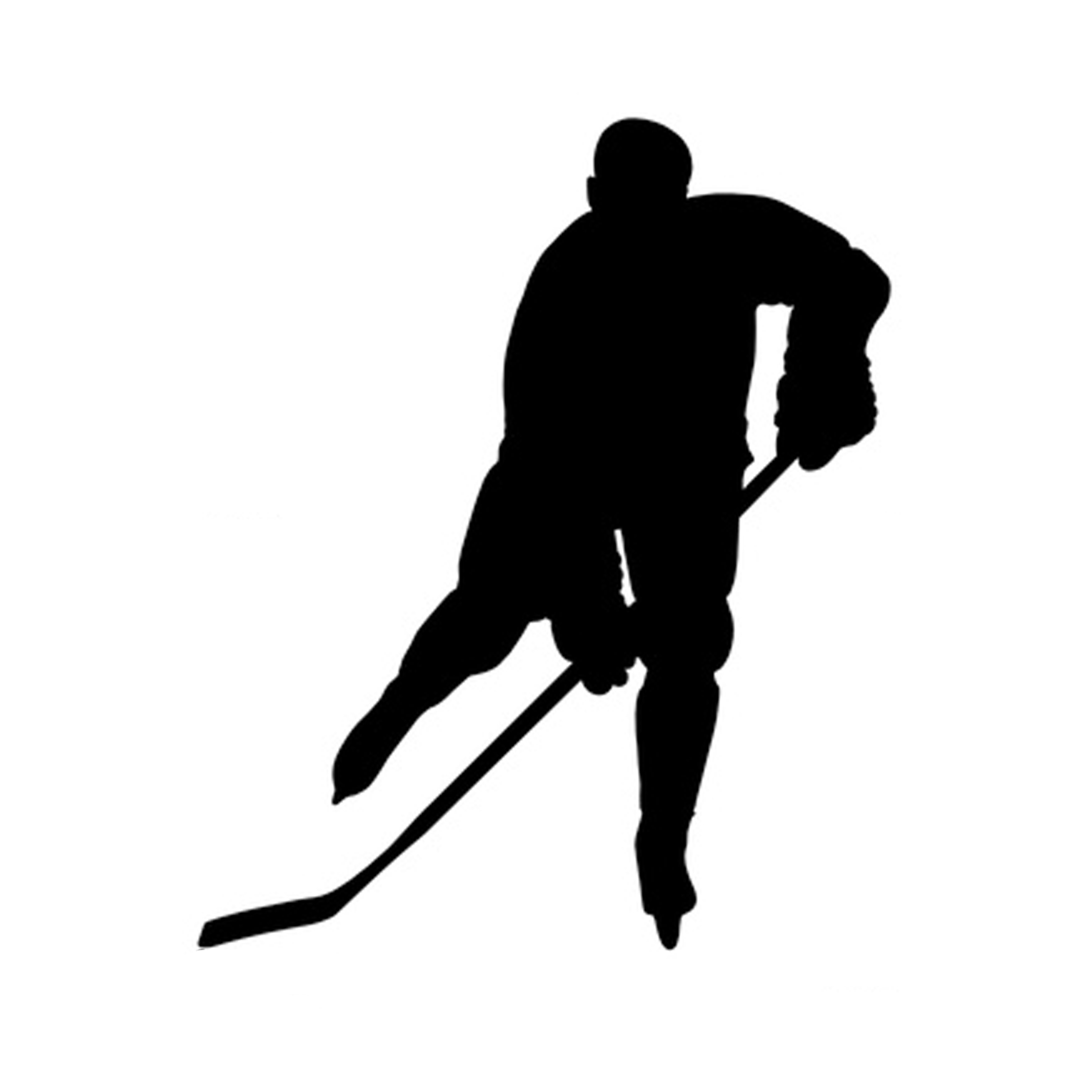 2100x2100 Clip Art Hockey Player Vector Silhouette I8mkbgv