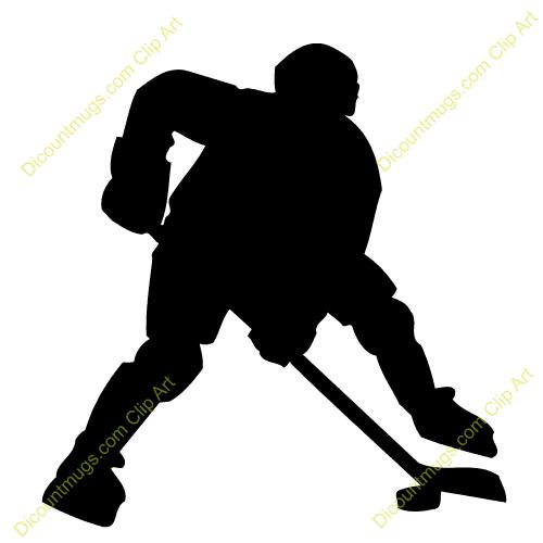 500x500 Ice Hockey Player Clip Art Hockey Hockey, Ice