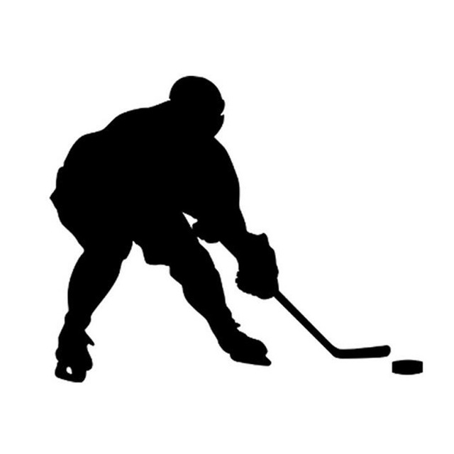 640x640 1411.5cm Hockey Puck Pattern Car Stickers Decals Hockey Lovers