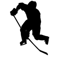 236x236 Ice Hockey Silhouette Awesome Silhouettes Ice