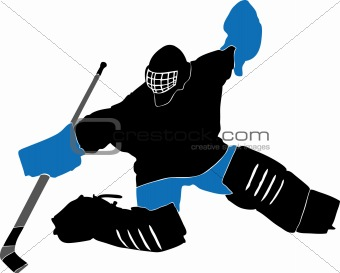 340x273 Image 3357296 Ice Hockey Goalie From Crestock Stock Photos
