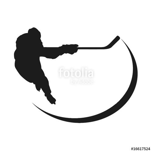 500x500 Hockey Player Silhouette Stock Photo And Royalty Free Images