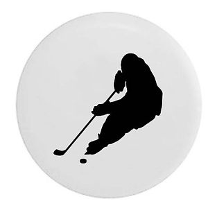 300x300 Hockey Player Skating With Puck Trailer Rv Spare Tire Cover Oem