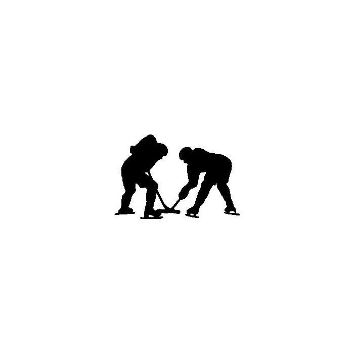 700x700 Wallhogs Hockey Silhouette Cutout Wall Decal Amp Reviews Wayfair.ca