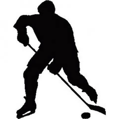 480x480 Hockey Players Silhouettes