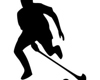 340x270 Field Hockey Sticker Etsy