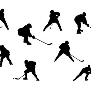 300x300 Hockey Player Silhouette Png Transparent Createmepink