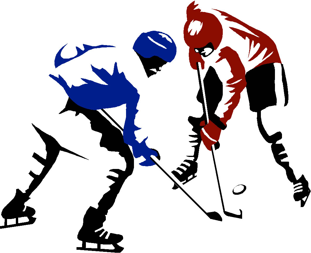 1061x864 Hockey Clipart Free